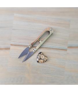 Ножиці пружинні-кусачки