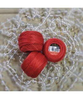 ДМС 321  Pearl Cotton N8 ( DMC 116/8)