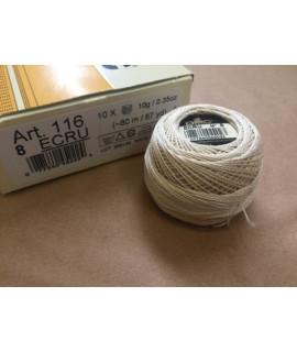 ДМС ecru  Pearl Cotton N8  ( DMC 116/8 )