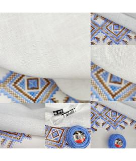Тканина Edinburgh (Едінбург) 3217/100, 36 ct Zweigart, білий