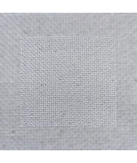 Zweigard Lugana  25ct  3835/17,  білий з сріблим люрексом