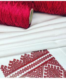 Тканина Zweigart  Murano 3984/100,білий,32ct