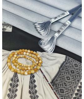 Тканина Murano 3984/705,перлинно-сірий,32ct від  Zweigart