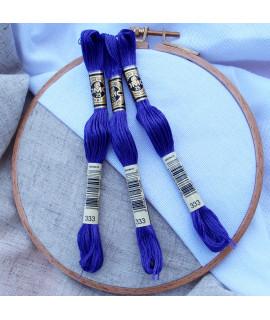 0333 Синьо-фіолетовий, дуже темний тон